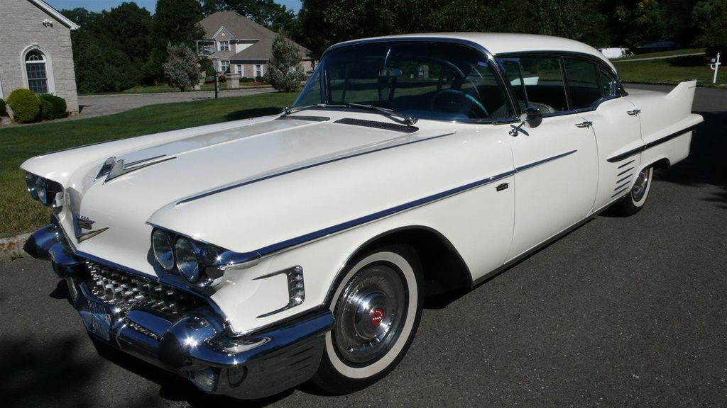 1958 Cadillac SEDAN DEVILLE ALL ORIGINAL - 12597252 - 0