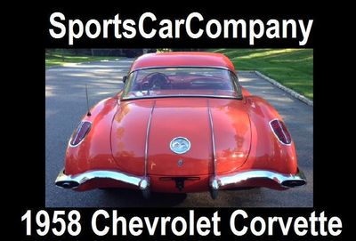 1958 Chevrolet CORVETTE  - Click to see full-size photo viewer