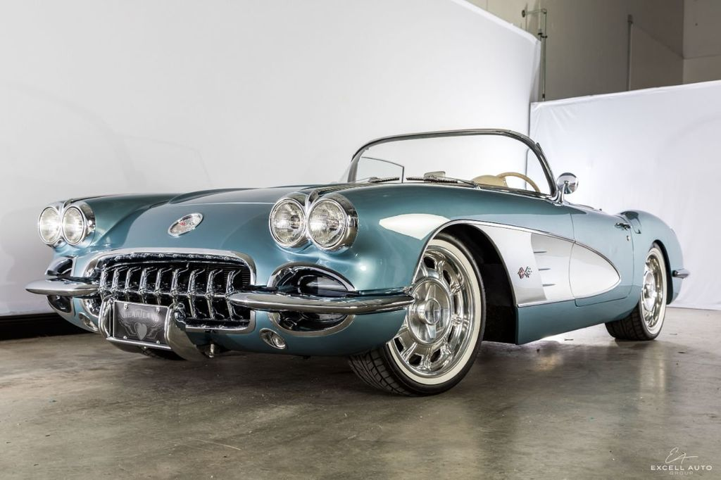 Excell Auto Group >> 1958 Used Chevrolet Corvette 001 at Excell Auto Group Serving Boca Raton, FL, IID 18591826