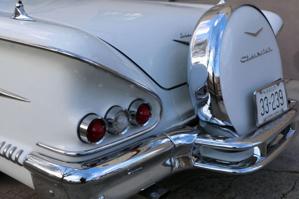 1958 Chevrolet Impala Tri-Power - 18406300 - 16