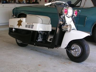 1958 CUSHMAN - ALLSTATE MAYBERRY TRIBUTE