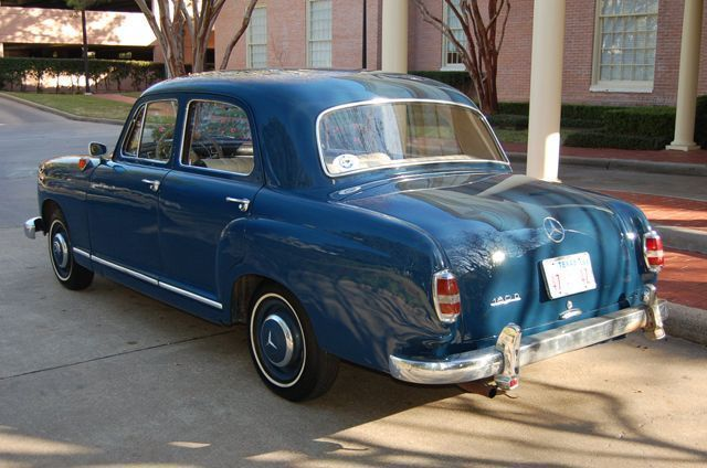 1958 used mercedes benz 180 d at victory motorcars serving for Mercedes benz 180d for sale