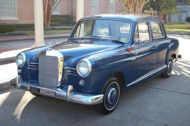 1958 Mercedes Benz 180 D   9913532   3
