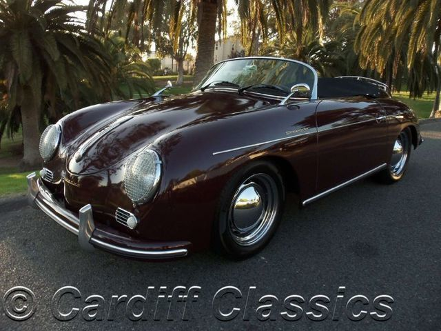 1958 Used Porsche 356 Sdster Vintage Sdster Replica at Cardiff ...