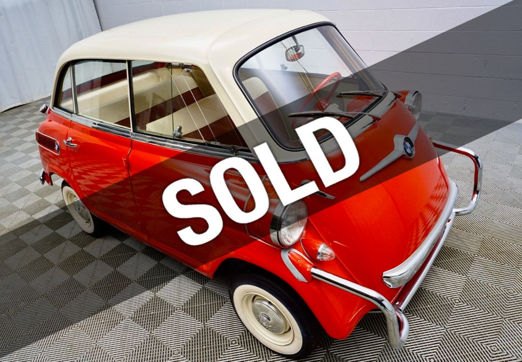1959 used bmw isetta 600 microcar at kip sheward. Black Bedroom Furniture Sets. Home Design Ideas