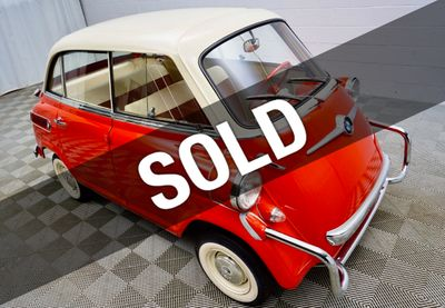 1959 BMW Isetta 600 Microcar Coupe