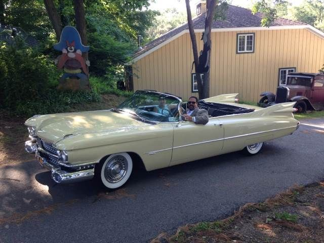 1959 Cadillac Series 62 Convertible For Sale Pound Ridge Ny
