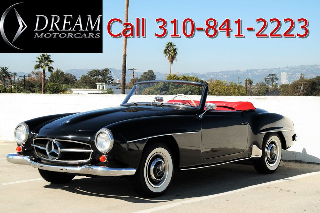 1959 Used Mercedes-Benz 190SL at Dream Motor Cars Serving Los ... Mb Sl Engine Wiring Harness Replacement on neutral safety switch replacement, oil pan gasket replacement, fuel pump replacement, pitman arm replacement, brake light switch replacement, map light bulb replacement, turn signal switch replacement, third brake light replacement, power window motor replacement, timing chain replacement, camshaft position sensor replacement, fuel injector replacement, hood release cable replacement, timing belt tensioner replacement, windshield wiper arm replacement, cigarette lighter socket replacement, catalytic converter replacement,