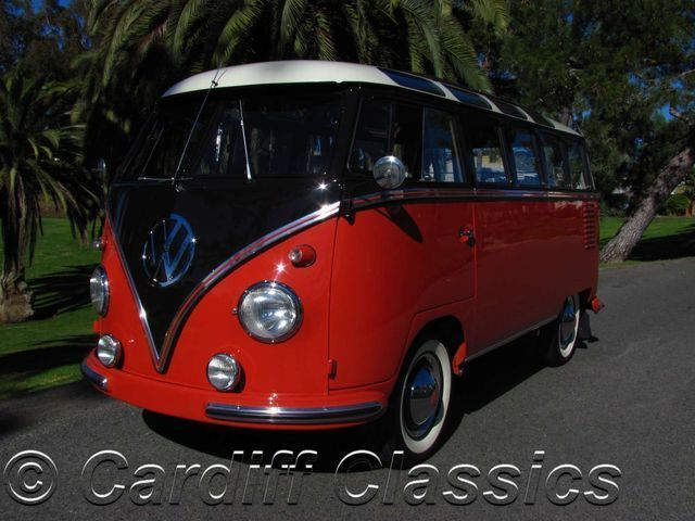 1959 Volkswagen Samba 23 Window Samba Bus - Click to see full-size photo viewer