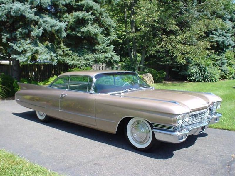 1960 Cadillac Coupe Deville For Sale: 1960 CADILLAC COUPE DEVILLE 2041 MILES! 2DR Not Specified