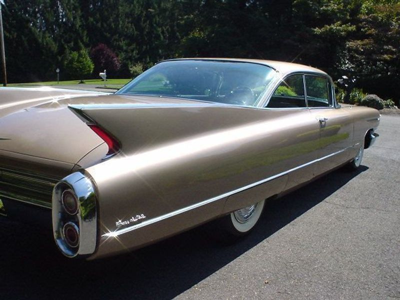 1960 CADILLAC COUPE DEVILLE 2041 MILES! 2DR Not Specified ...