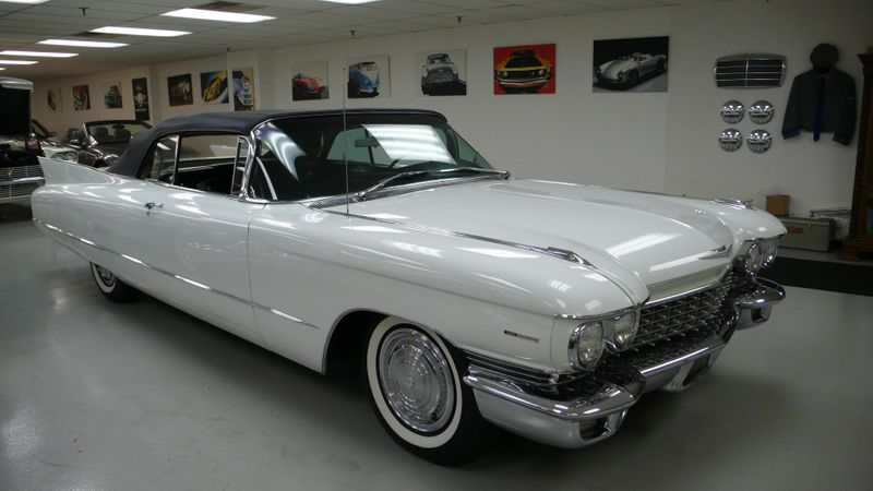 1960 Cadillac SERIES 62 ORIGINAL - 10960086