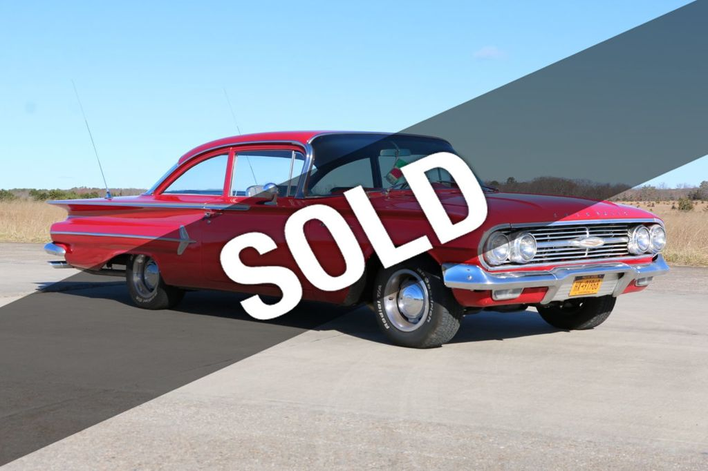1960 Chevrolet Belair For Sale - 18378779 - 0