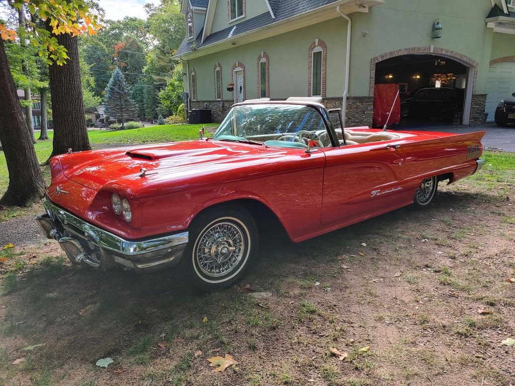 1960 Used Ford Thunderbird At Find Great Cars Serving Ramsey Nj