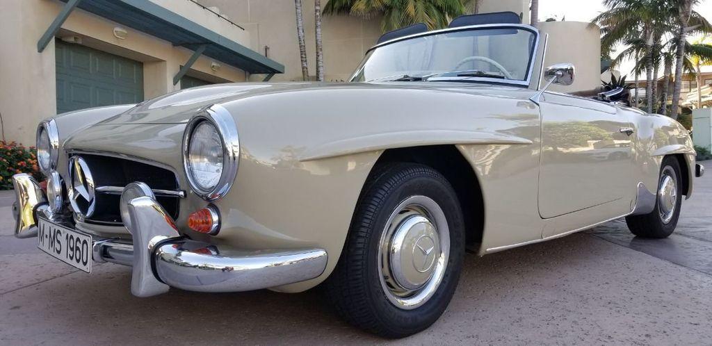 1960 Mercedes-Benz 190SL  - 18299931 - 0