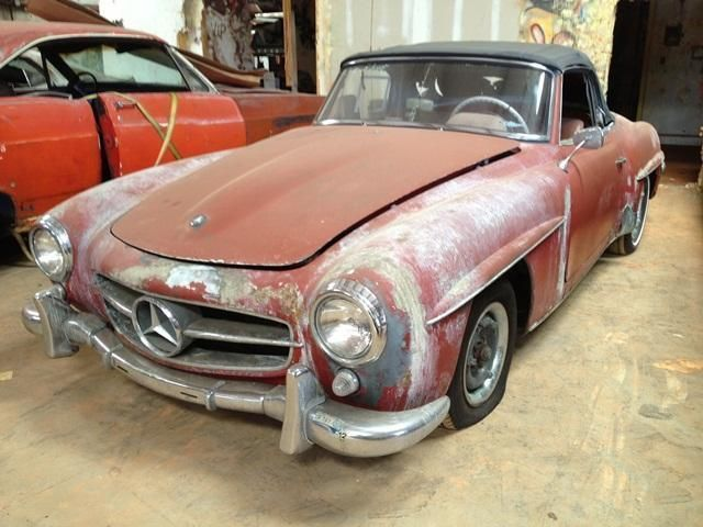 1960 used mercedes benz 190sl sold at dixie dream cars for Used convertible mercedes benz for sale