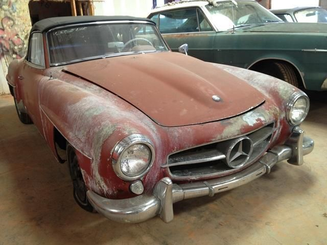 1960 Mercedes-Benz 190SL SOLD - 10444573 - 1
