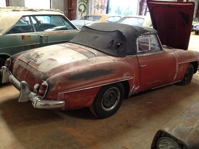 1960 Mercedes-Benz 190SL SOLD - Click to see full-size photo viewer