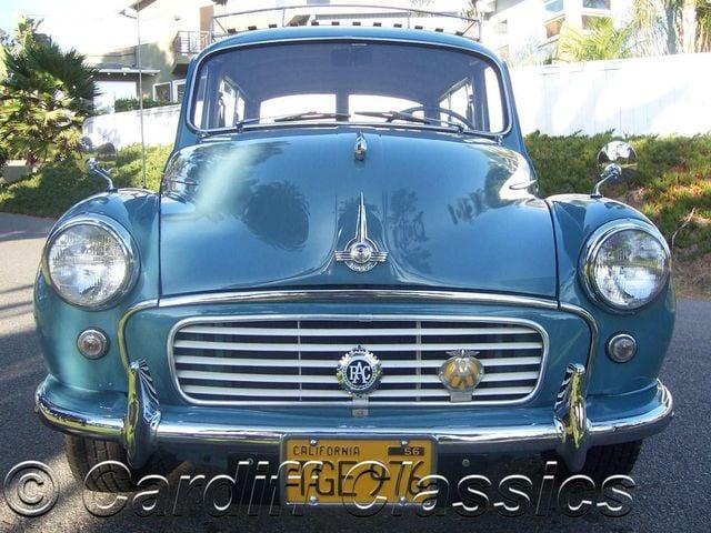 1960 Used Morris Minor 1000 Traveller Woody At Cardiff