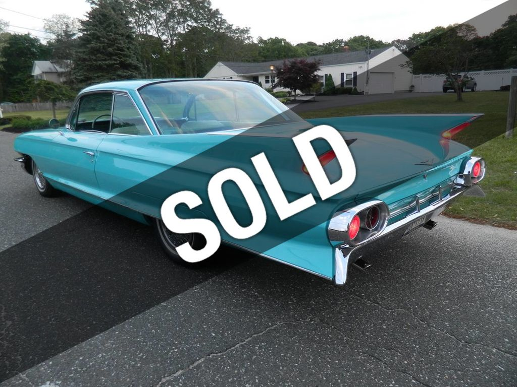 1961 Cadillac Coupe Deville For Sale - 17733173 - 0