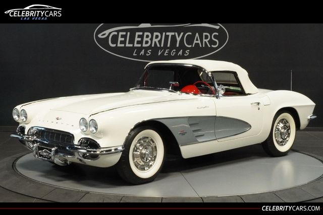 Chevrolet Las Vegas >> 1961 Used Chevrolet Corvette Fuel Injected At Celebrity Cars Las Vegas Nv Iid 19136426