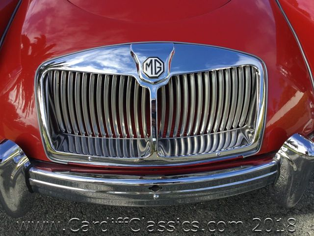 1961 MG MKII Convertible  - Click to see full-size photo viewer