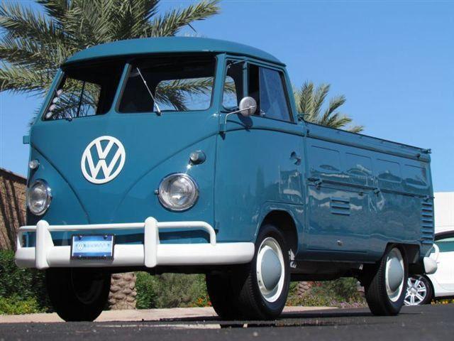 1961 Volkswagen Transporter 2dr pickup - 17084538 - 46