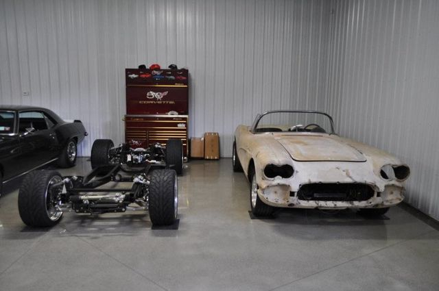 1962 Used Chevrolet Corvette Convertible Restomod Project at