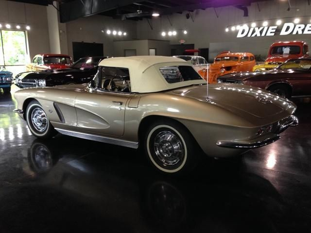 1962 Chevrolet Corvette SOLD Convertible - 20867S100202 - 2