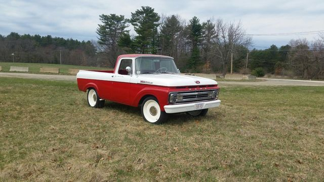 1962 Ford F100  - Click to see full-size photo viewer