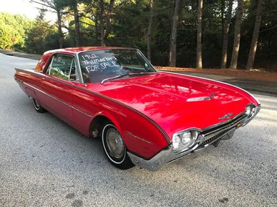 1962 Ford Thunderbird T-Bird - Click to see full-size photo viewer