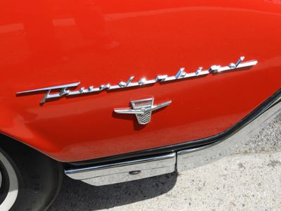 1962 Ford Thunderbird Convertible Sports Roadster  - Click to see full-size photo viewer