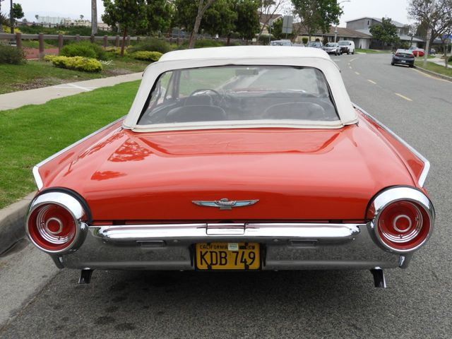 1962 Ford Thunderbird Convertible Sports Roadster
