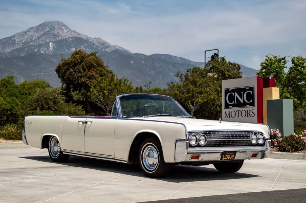 1962 Used Lincoln Continental At Cnc Motors Inc Serving Upland Ca Iid 18826817