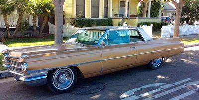1963 Cadillac DeVille  - Click to see full-size photo viewer