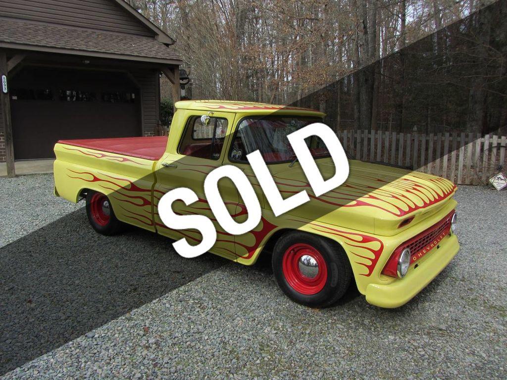 1963 Used Chevrolet C10 Swb Fleetside Low Rider Custom For Sale
