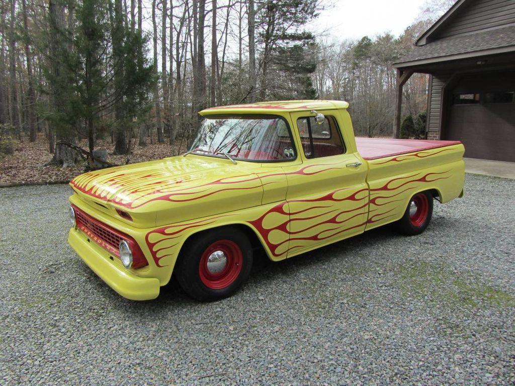 1963 Chevrolet C10 SWB Fleetside Low Rider Custom For Sale - 18398462 - 1
