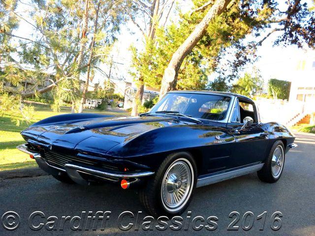 63 Split Window Corvette >> 1963 Used Chevrolet Corvette Fuel Injected Split Window At Cardiff
