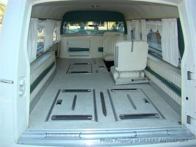 1964 Cadillac HEARSE THE JFK HEARSE - Click to see full-size photo viewer