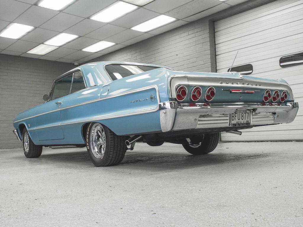 1964 Chevrolet Impala 2dr Sport Coupe - 18513773 - 14