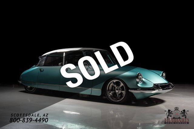 1964 Citroen DS Custom Fully custom LS swap 1 of a kind - Click to see full-size photo viewer