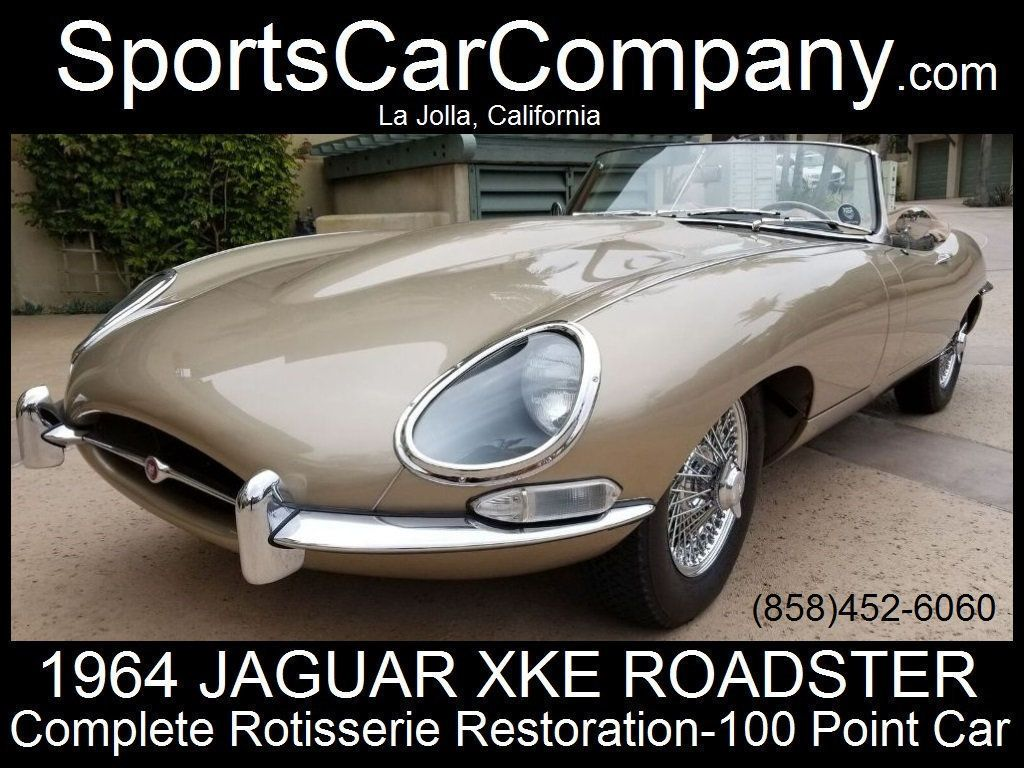1964 Used Jaguar Xke At Sports Car Company Inc Serving La Jolla Antique Wire Harness 17687740 1