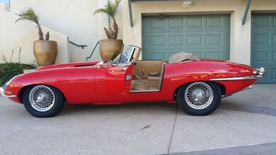 1964 Jaguar XKE ROADSTER  - Click to see full-size photo viewer