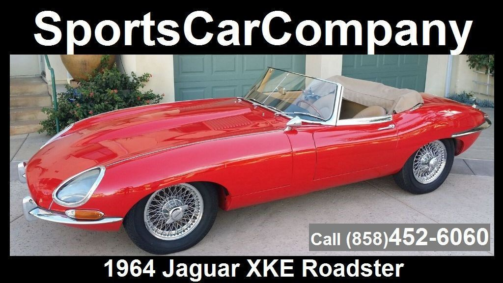 1964 Jaguar XKE ROADSTER  - 17015652 - 1