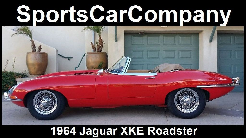 1964 Jaguar XKE ROADSTER  - 17015652 - 3