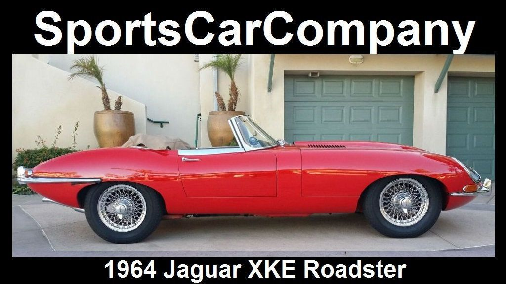 1964 Jaguar XKE ROADSTER  - 17015652 - 4