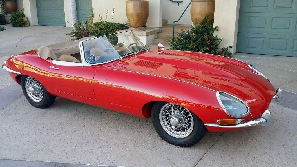 Delightful 1964 Jaguar XKE ROADSTER   17015652   50