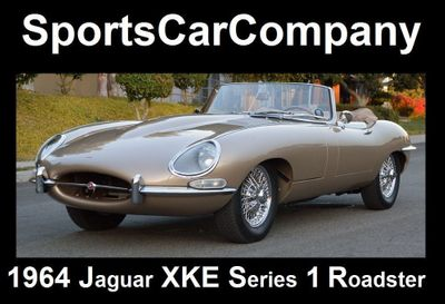 1964 Jaguar XKE ROADSTER XKE SERIES 1 ROADSTER Convertible
