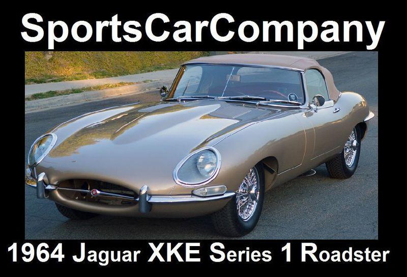 1964 Jaguar XKE ROADSTER XKE SERIES 1 ROADSTER   17177451   2