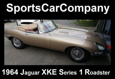1964 Jaguar XKE ROADSTER XKE SERIES 1 ROADSTER - Click to see full-size photo viewer